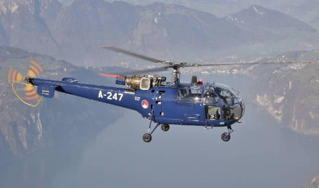 Aerospatiale Alouette III - Sud-Aviation SA 316